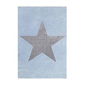 Modrošedý dětský koberec Happy Rugs Superstar, 120x180cm