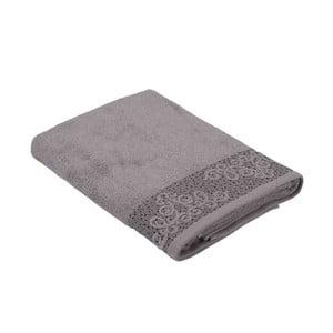 Hnědý ručník z bavlny Bella Maison Damask, 30 x 50 cm