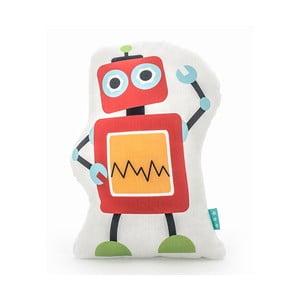 Bavlněný dětský polštářek Mr. Fox Robots 40x30 cm