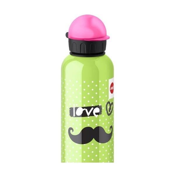 Dětská lahev na pití Moustache, 600 ml