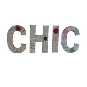 Závěsná písmena CHIC