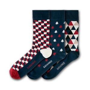 Sada 3 ponožek Black&Parker London Cotehe, velikost 37 – 43