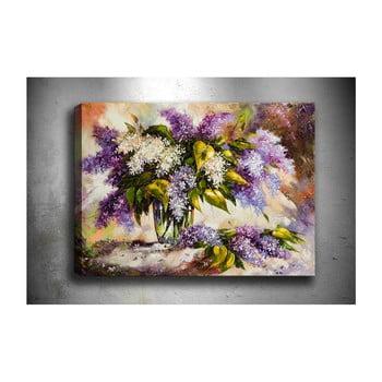 Tablou Tablo Center Purple Lilac, 70x50cm