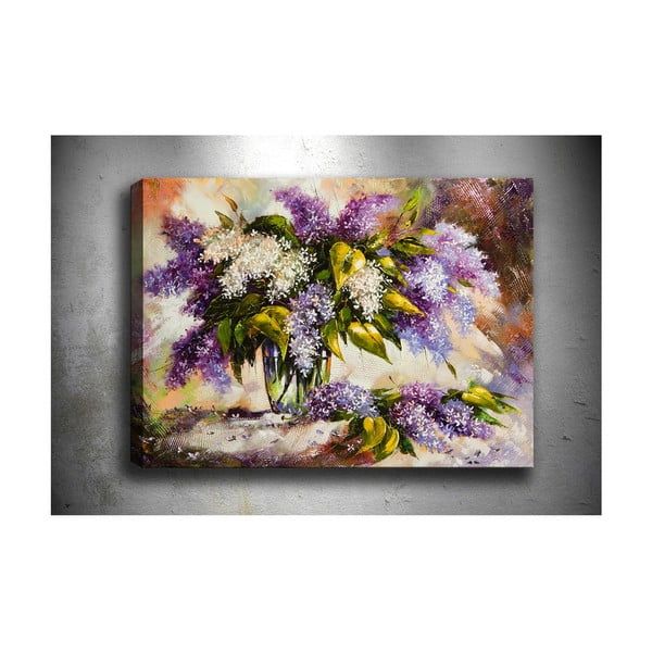 Obraz Tablo Center Purple Lilac, 70x50cm