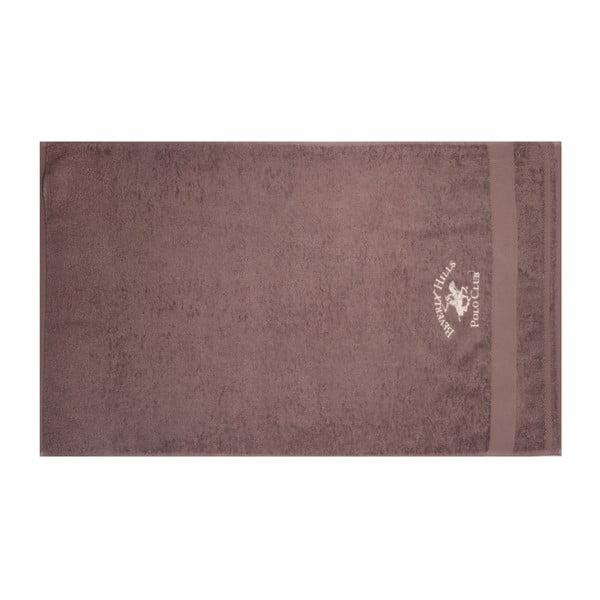 Sada hnědého a béžového ručníku Beverly Hills Polo Club Tommy Orj, 50x100cm