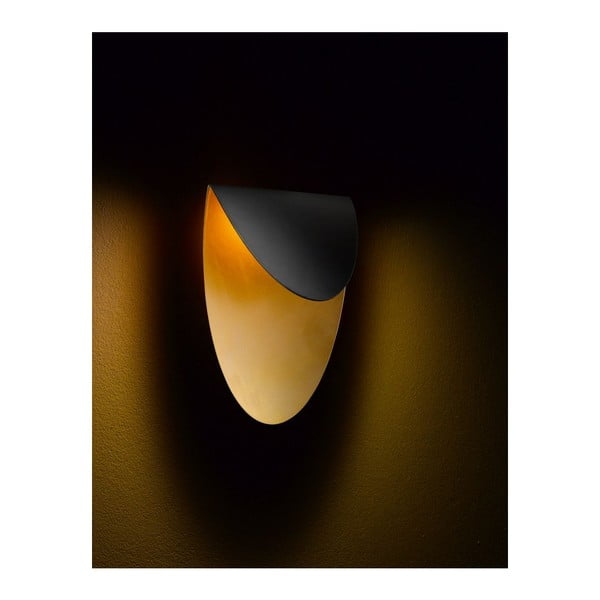Nástěnné světlo Lips Black