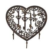 Držák na klíče Antic Line Heart