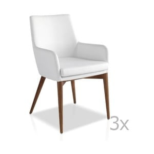 Sada 3 jídelních židlí Ángel Cerdá Jimena