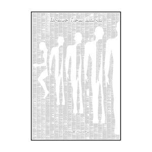Knižní plakát Konec civilizace, 70x100 cm