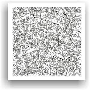 Obraz k vymalování Color It no. 83, 50x50 cm