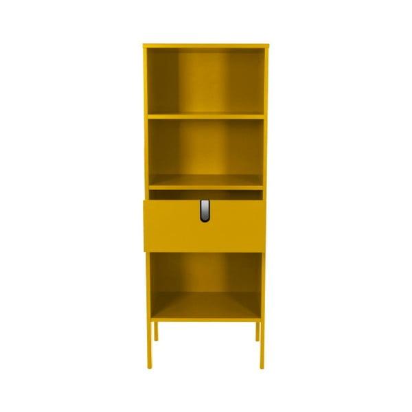 Żółty regał Tenzo Uno, wys. 152 cm