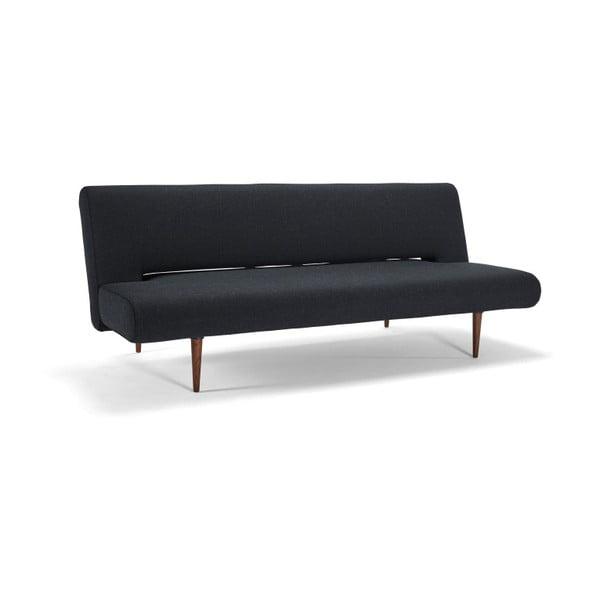 Unfurl Nist Black fekete kihúzható kanapé - Innovation