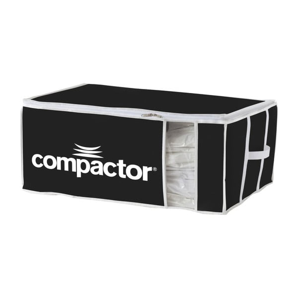 Cutie depozitare din material textil Compactor Brand XXL, negru