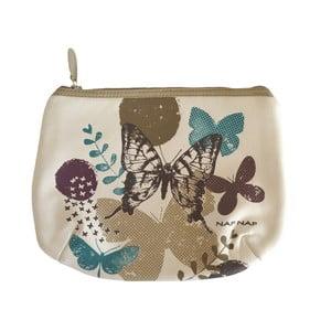 Taštička s béžovými detaily Naf Naf Butterfly