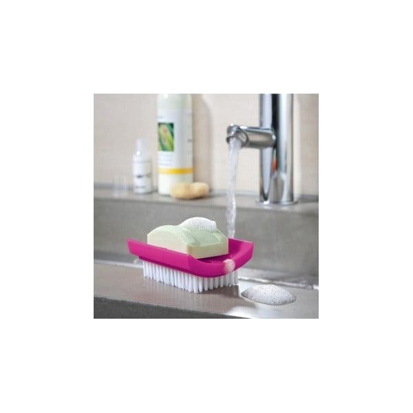 DAILY SOAP, kartáček a držák na mýdlo v jednom