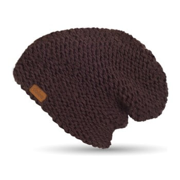 Căciulă tricotată manual DOKE Plum imagine