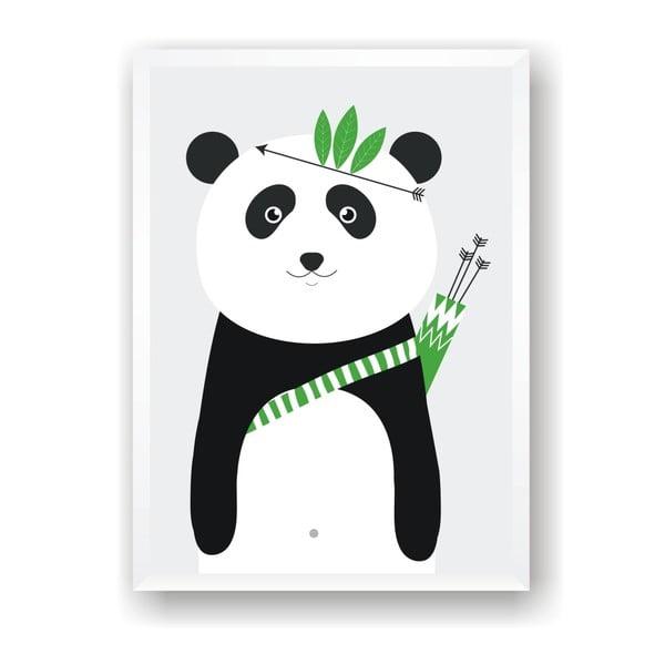 Plakát Nord & Co Panda, 30 x 40 cm