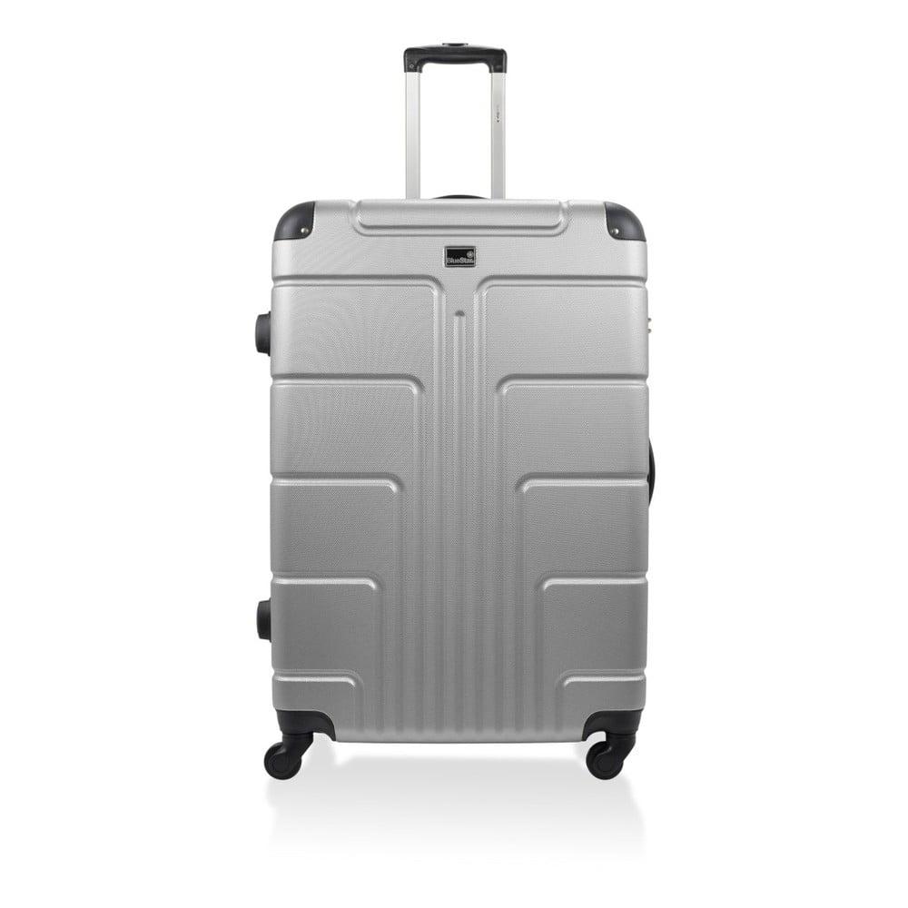 Šedý kufr na kolečkách Blue Star Ottawa, 46 l