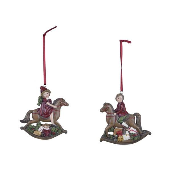Set 2 závěsných ozdob Ego Dekor Vintage Toys II