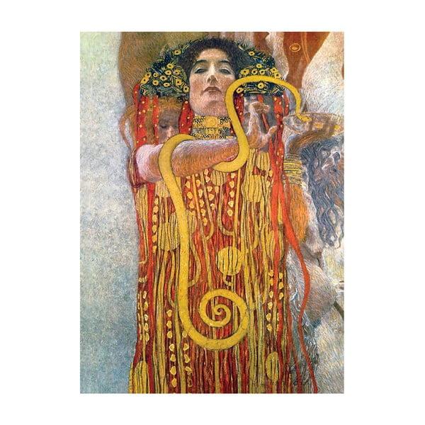 Gustav Klimt - obraz Hygeia, 60x80 xm