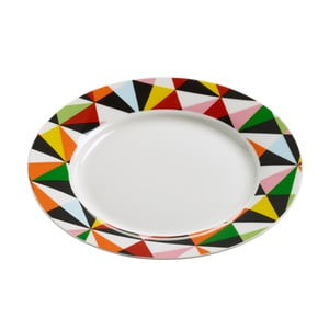 Porcelánový talířek Maxwell & Williams Abstraction, ⌀ 20 cm