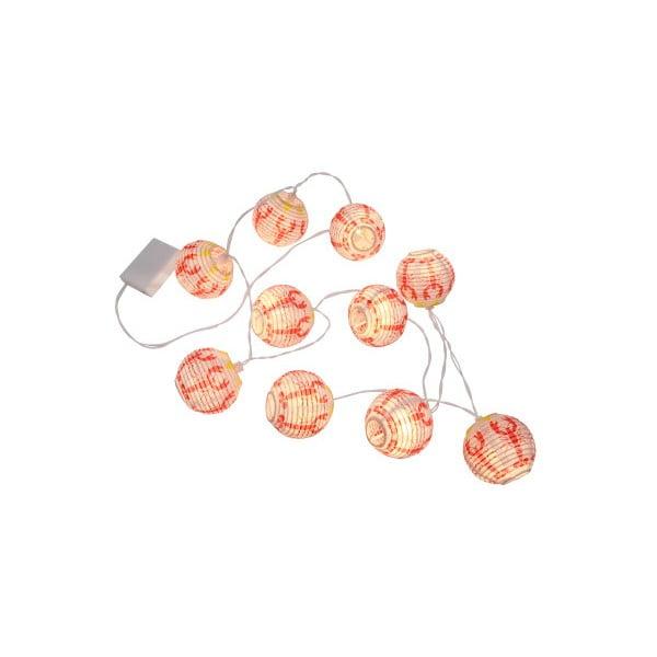 Světelný LED řetěz Best Season Crayfish, 8 světýlek