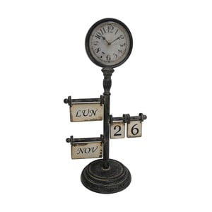 Ceas de masă cu calendar Antic Line