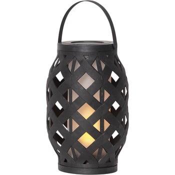 Felinar Best Season Flame Lantern, 15 x 23 cm, negru imagine