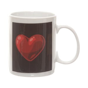 Keramický hrnek stermocitlivým obrázkem Kasanova Heart, 325 ml
