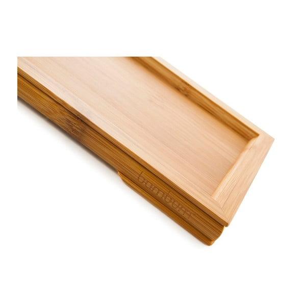 Servírovací podnos z bambusu Bambum Siesta, 23 x 15 cm