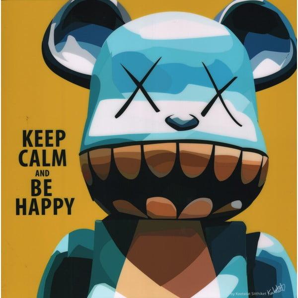 Obraz Keep calm be happy