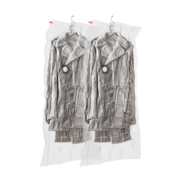 Zestaw 2 wiszących worków próżniowych na ubrania Compactor Espace, 70x145 cm