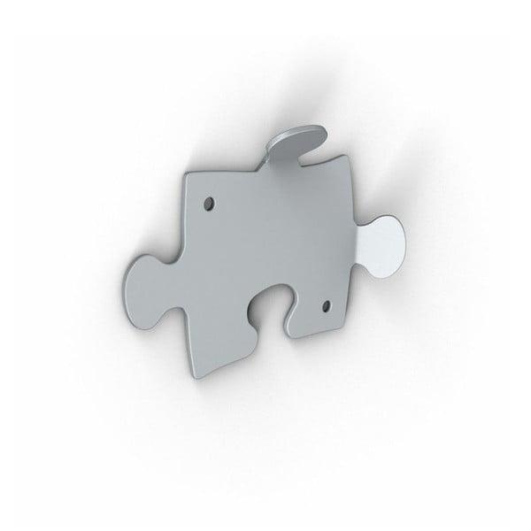 Stříbrné háčky Puzzle, 2 ks