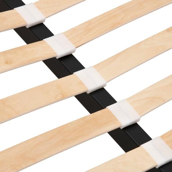 Postel ve velbloudí hnědé barvě Vivonita Kent Linen, 200x180cm