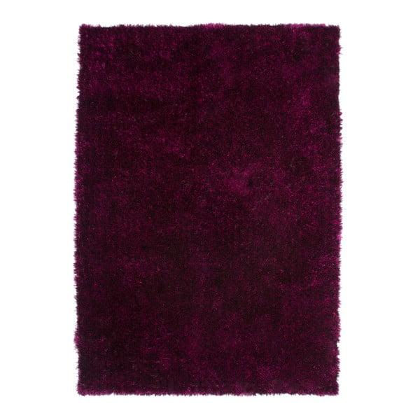 Tmavě vínový koberec Kayoom Celestial 328 Purple/Black, 120 x 170 cm