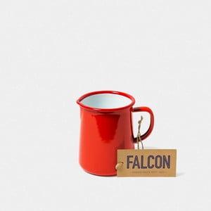 Červený smaltovaný džbán Falcon Enamelware OnePint, 586 ml