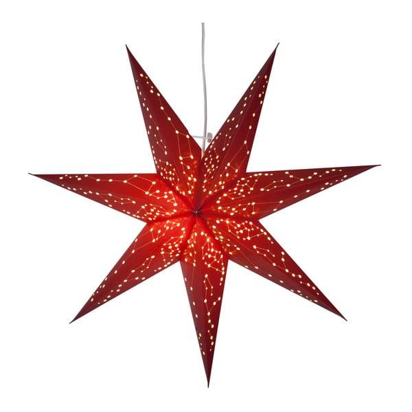 Červená svítící hvězda Best Season Paperstar Galaxy, 60cm