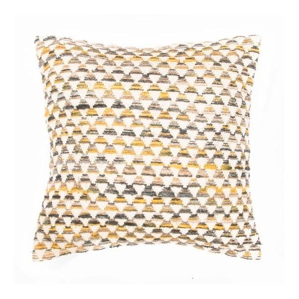 Față de pernă cu model Tiseco Home Studio Pyramide, 45x45cm, galben