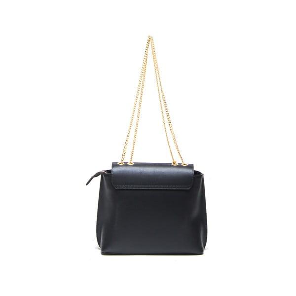 Kožená kabelka Layla 395 Nero