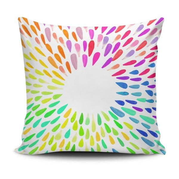 Polštář s příměsí bavlny Cushion Love Garito, 45 x 45 cm