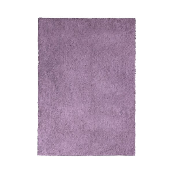Fialový běhoun Flair Rugs Shadow, 75 x 150 cm