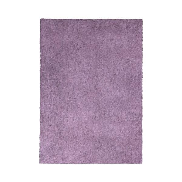 Fialový koberec Flair Rugs Shadow, 60 x 110 cm