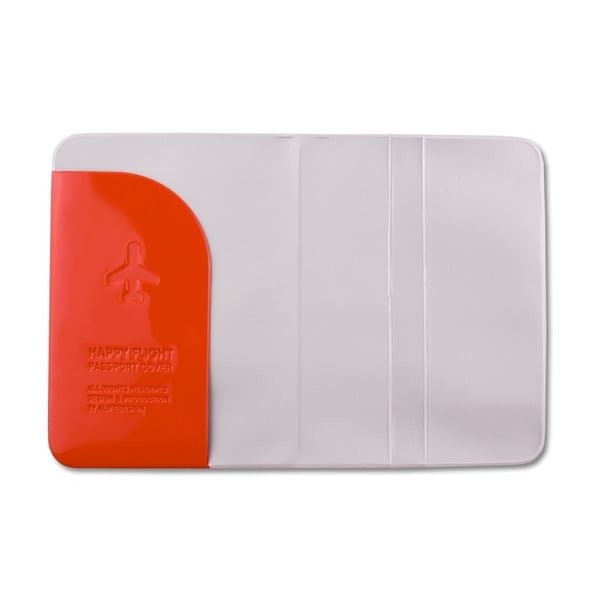 Stylové pouzdro na pas, červené