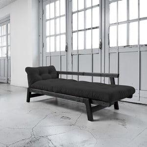 Canapea extensibilă Karup Step Black/Grey