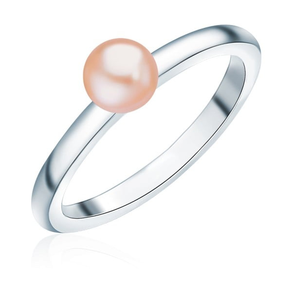Prsten s perlou Nova Pearls Copenhagen Io, vel. 52