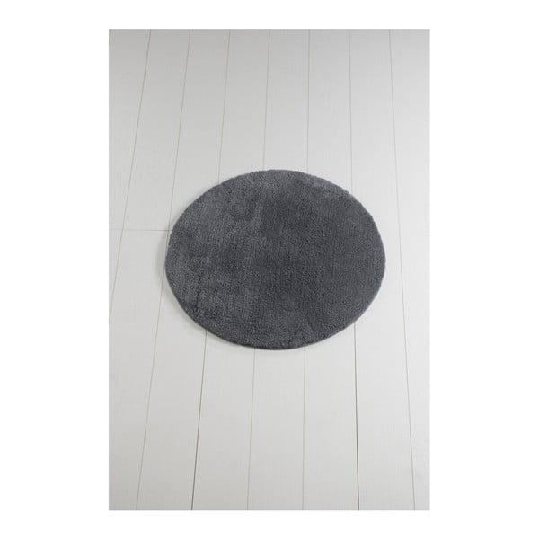 Antracytowy dywanik łazienkowy Colors of Cap, ⌀ 90 cm