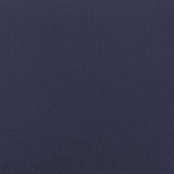 Tmavě modré křeslo Vivonita Sandy, tmavé nohy