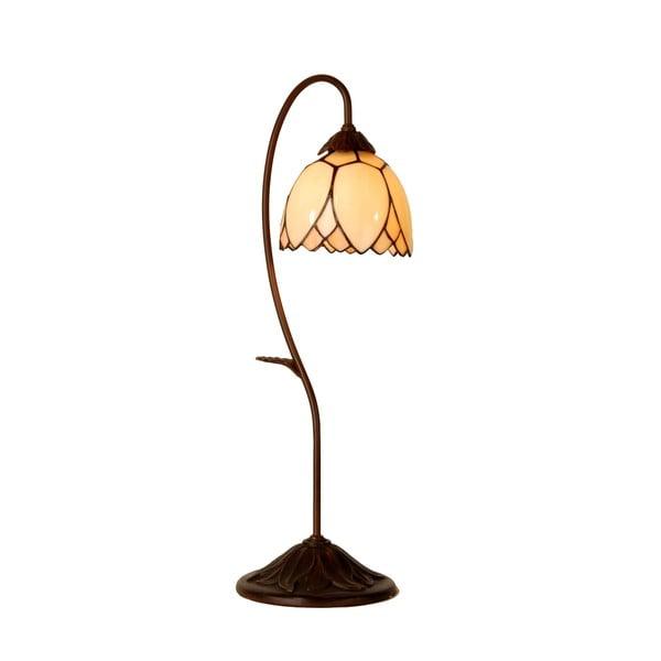 Tiffany stolní lampa Elegant Flower