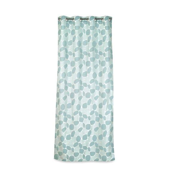 Závěs Galet Turquoise, 135x270 cm
