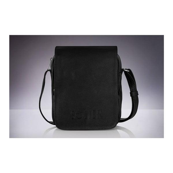 Pánská kožená taška Solier SL32, černá
